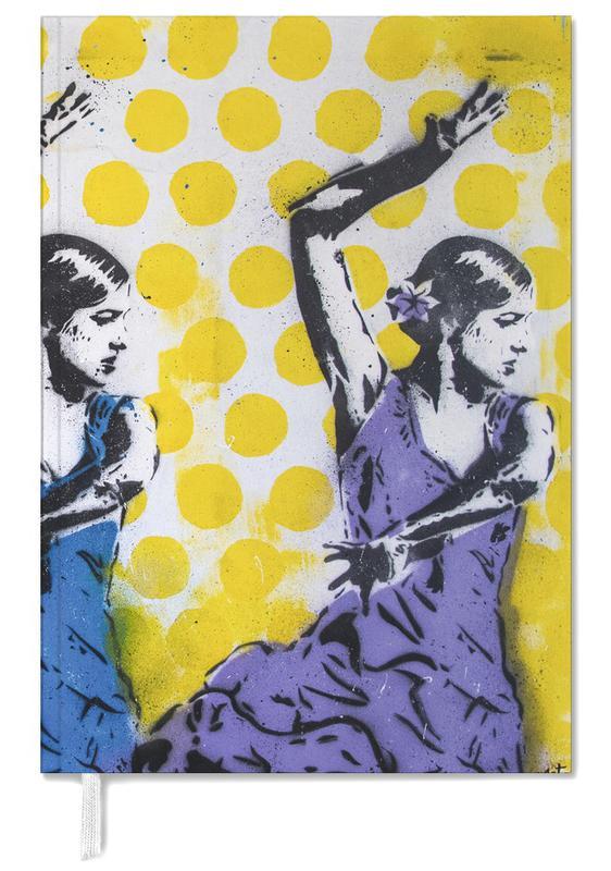 Dans, Street art, Las Tres agenda