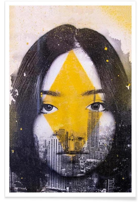 Portraits, Losange Poster