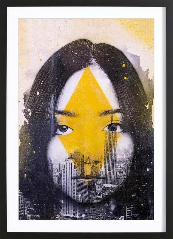 Losange Framed Print