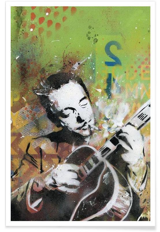 Street Art, Django affiche