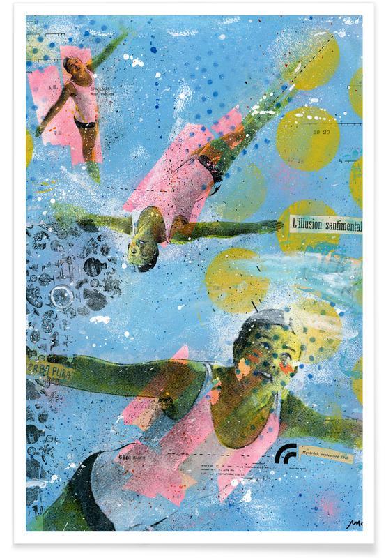 Schwimmen, Illusion Sentimentale -Poster