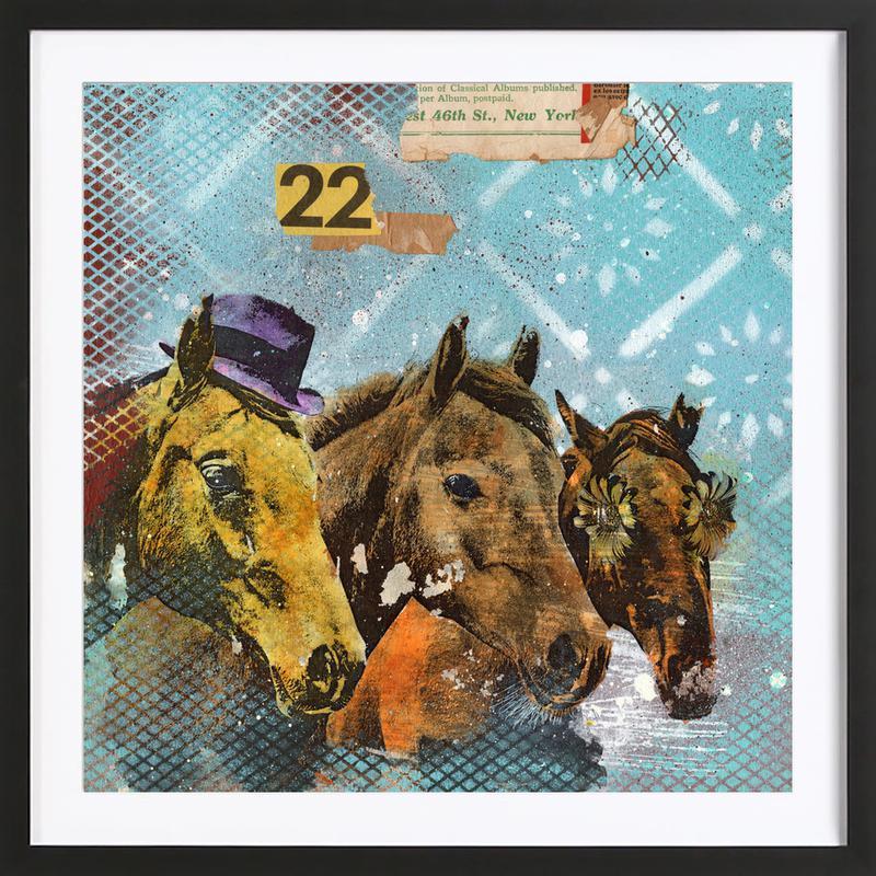 Horses 22 Framed Print