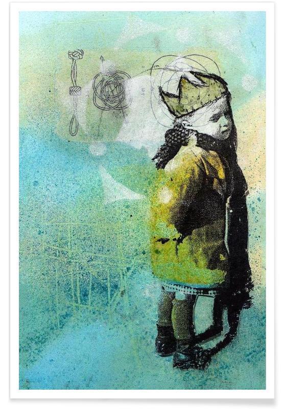 Street art, Principito poster