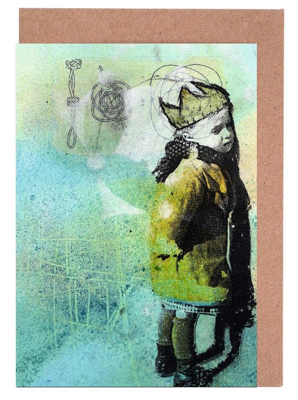 Street Art, Principito cartes de vœux