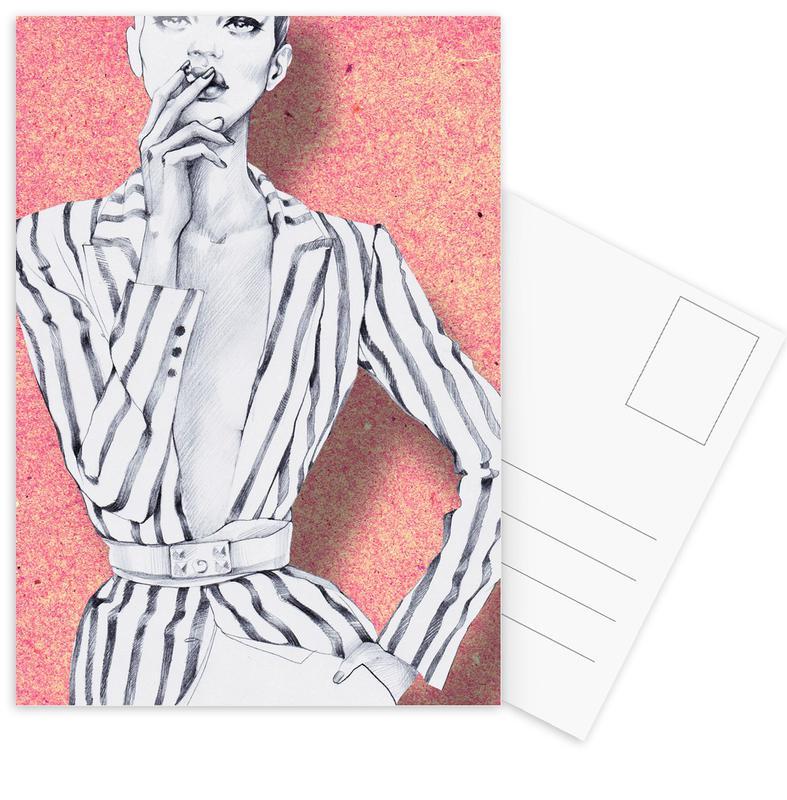 Illustrations de mode, Gentlewoman cartes postales