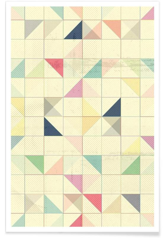 Triangles and Squares III affiche