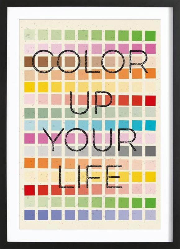 Color up your life Framed Print