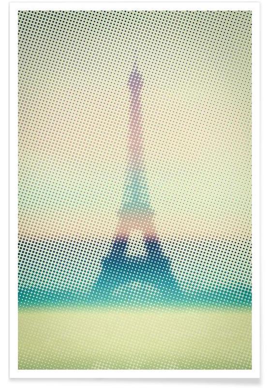 Paris, Eiffeltower affiche