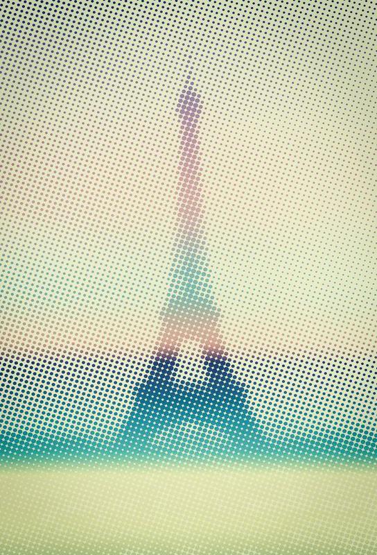 Eiffeltower -Acrylglasbild