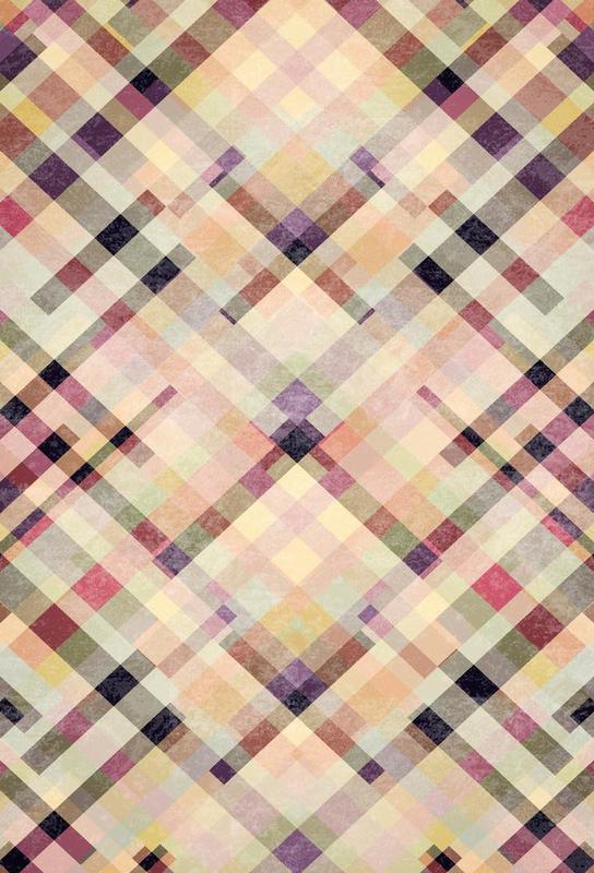 Patternwork XXVII Aluminium Print