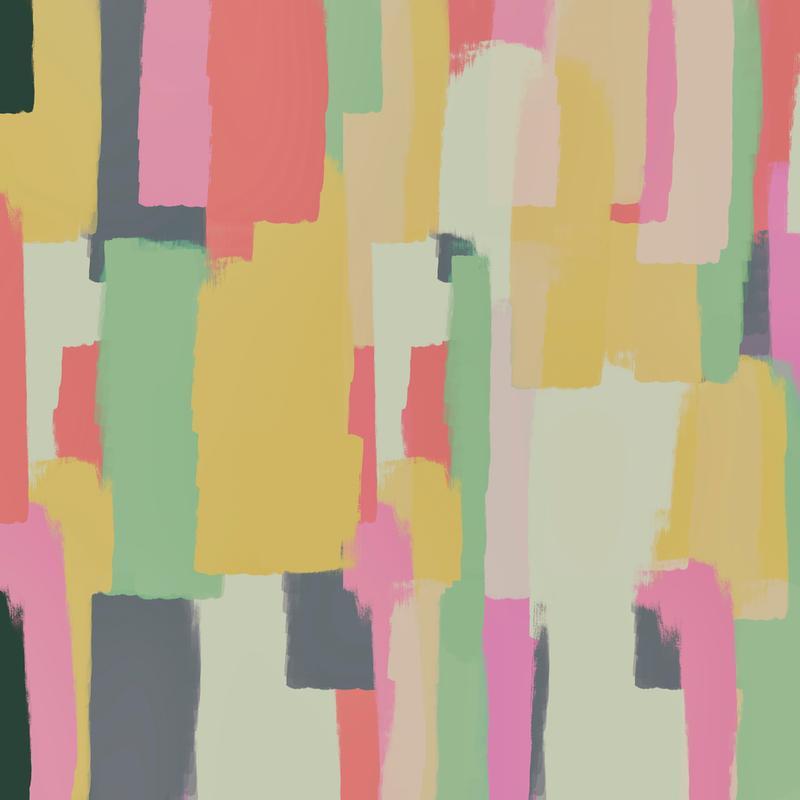 Abstract Painting No.1 Aluminium Print