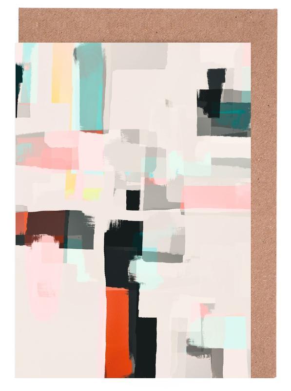 , Abstract Painting No.7 -Grußkarten-Set