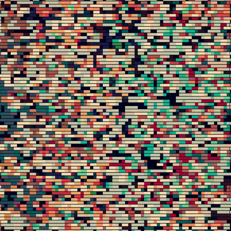 Pixelmania VIII Aluminium Print