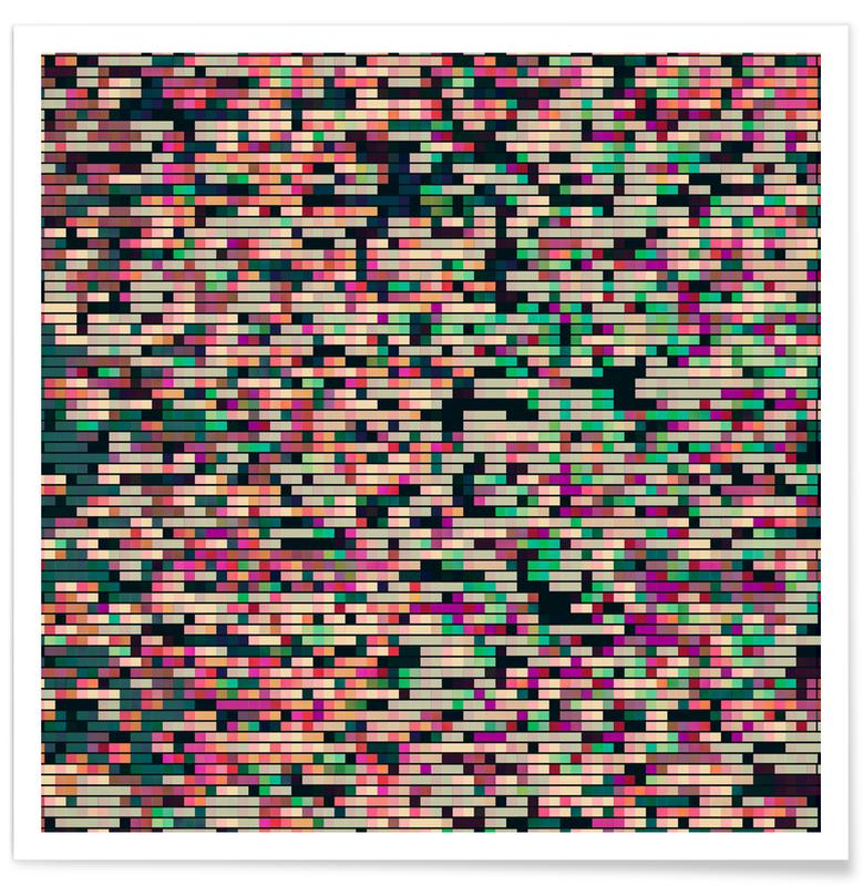 Muster, Pixelmania X -Poster