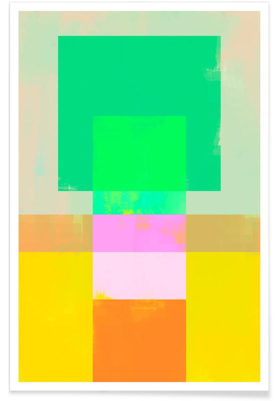 , Abtract Geometry No.9 -Poster