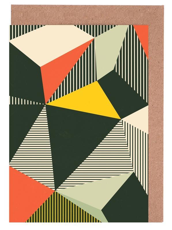 Bauhaus -Grußkarten-Set
