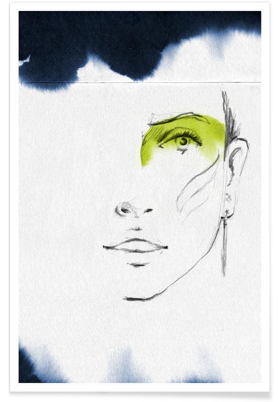 Portretten, Lena poster