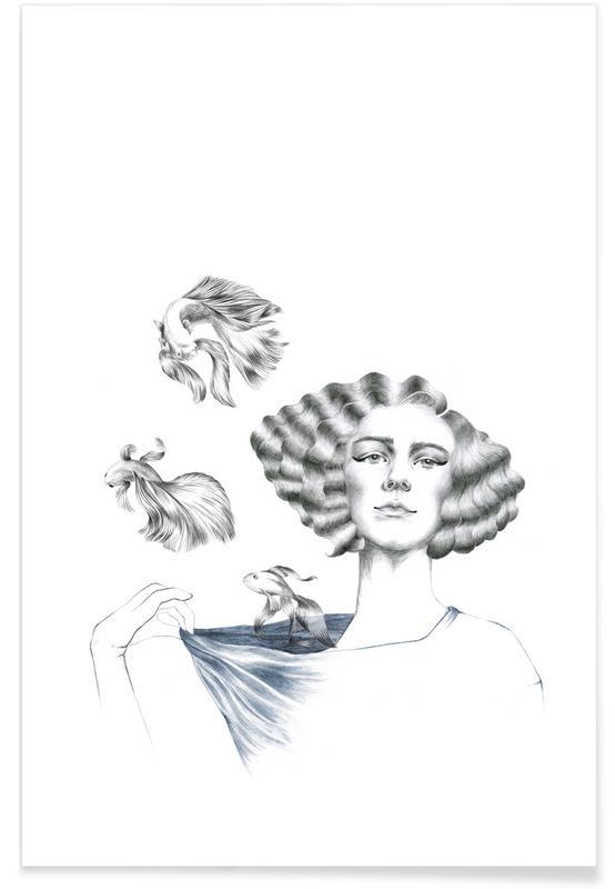 Vissen, My Mermaid poster