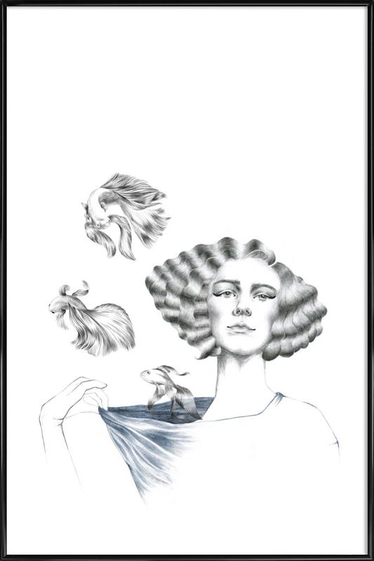 My Mermaid Framed Poster