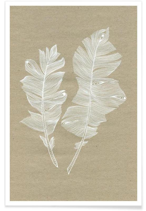Feathers affiche
