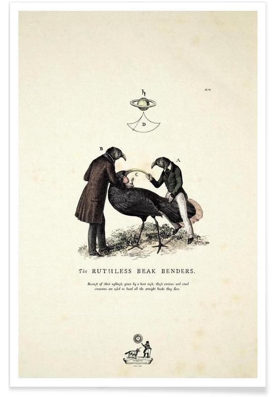 Creatures & Hybrids, The beak bender Poster