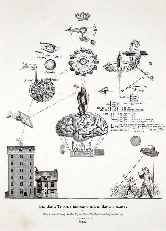 Big Bang Theory before the Bing Bang theory Canvas Print