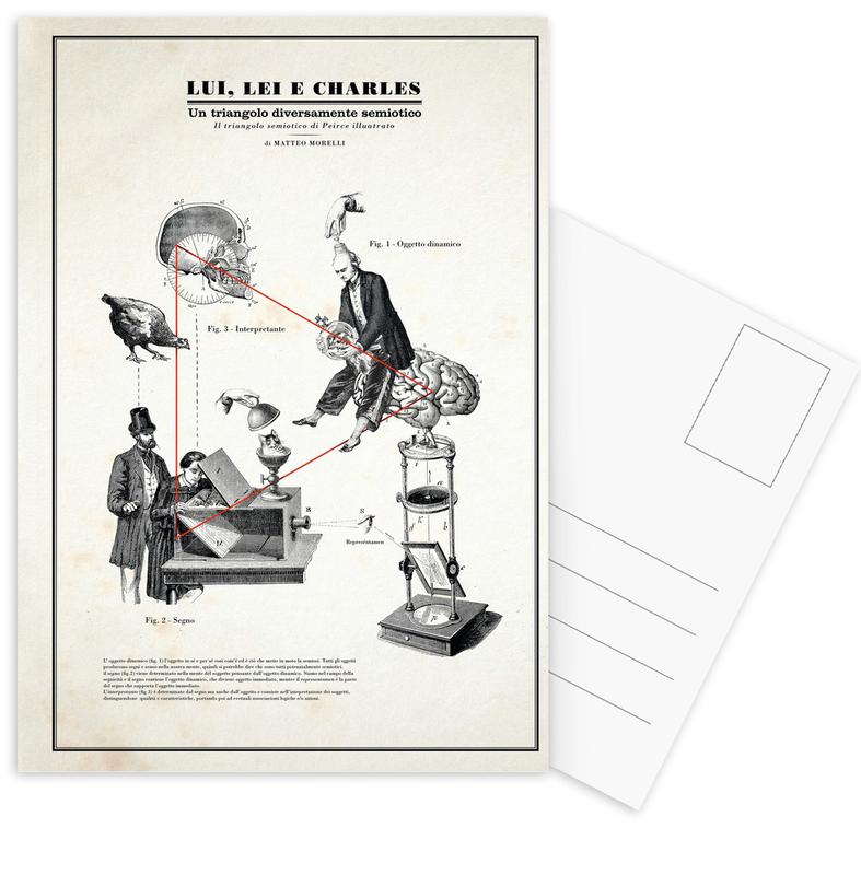 , Trangolo Postcard Set