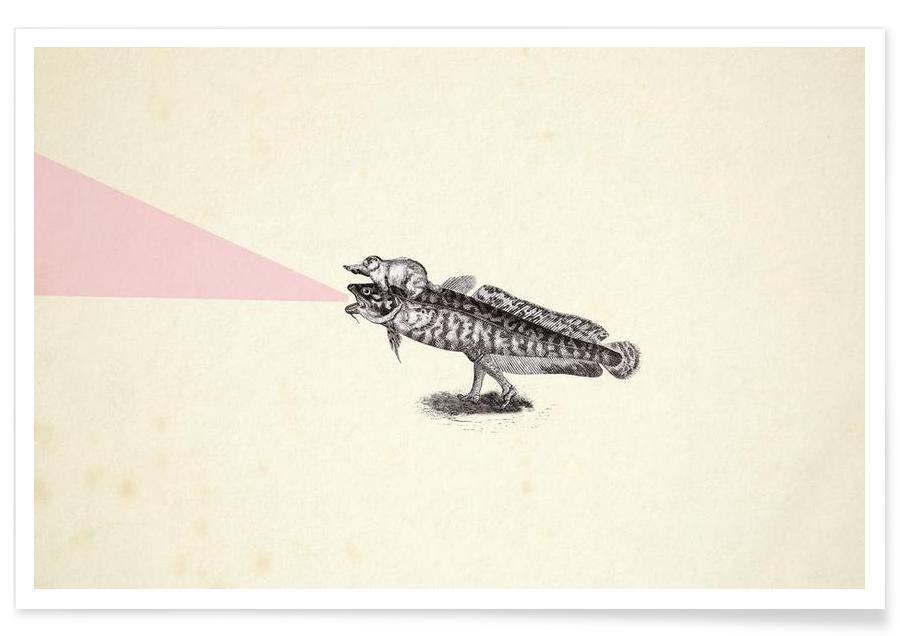 Créatures et hybrides, Absolutely random engraved GIF (frame) affiche