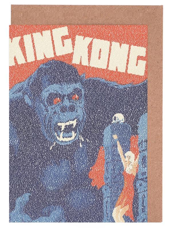 Films, Pop Art, King Kong cartes de vœux