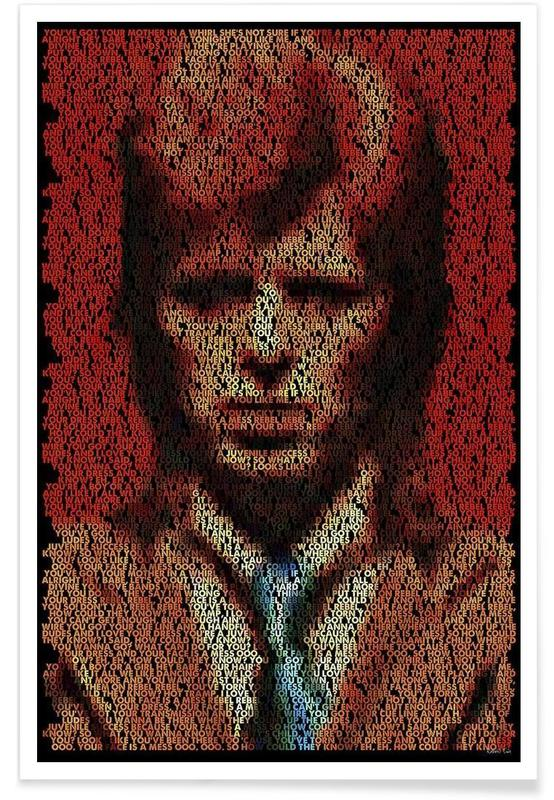 David Bowie, Pointillisme - Rebel Rebel affiche