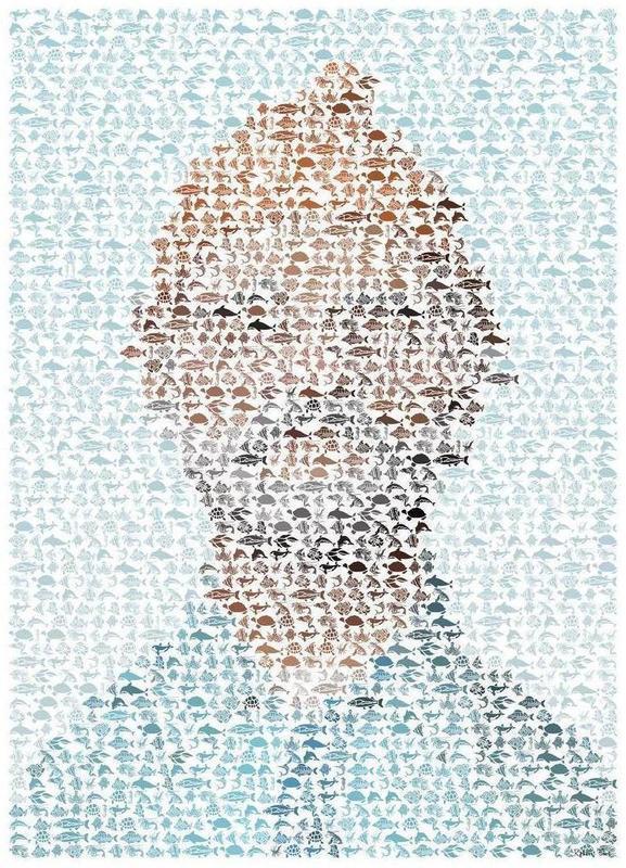 The Aquatic Steve Zissou canvas doek