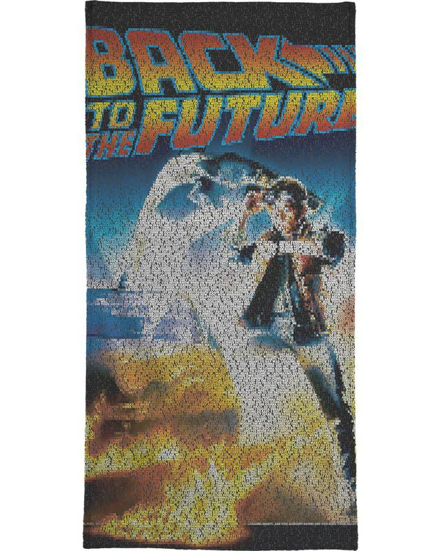 Back To The Future -Handtuch