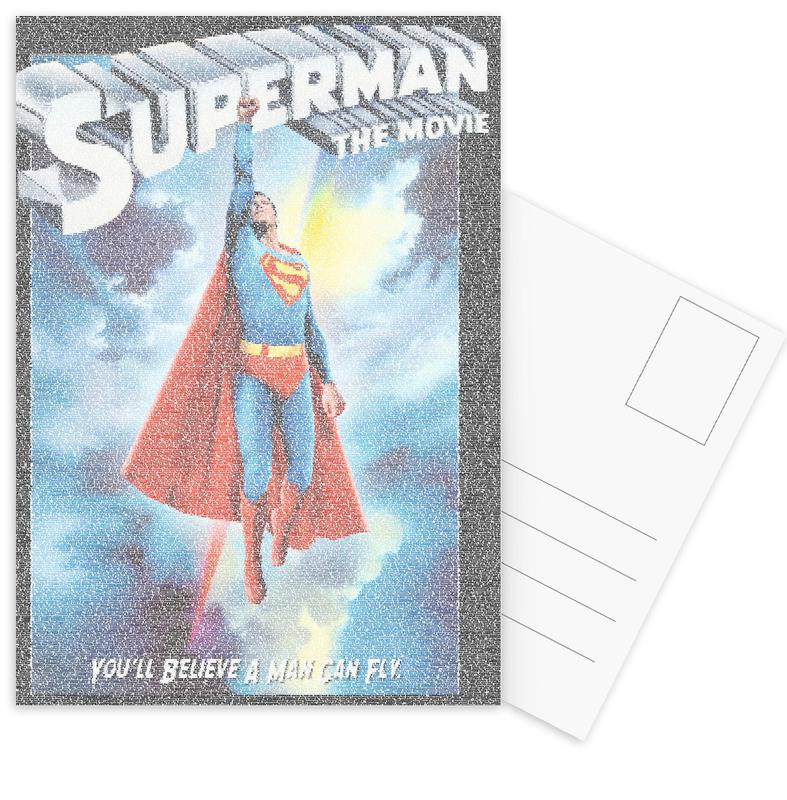 Movies, Superman, Superman 1978 Postcard Set