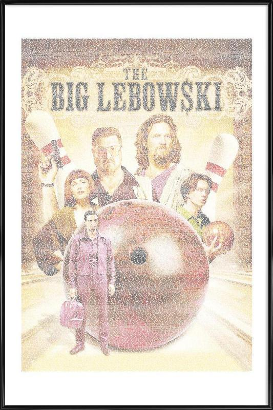 The Big Lebowski ingelijste poster