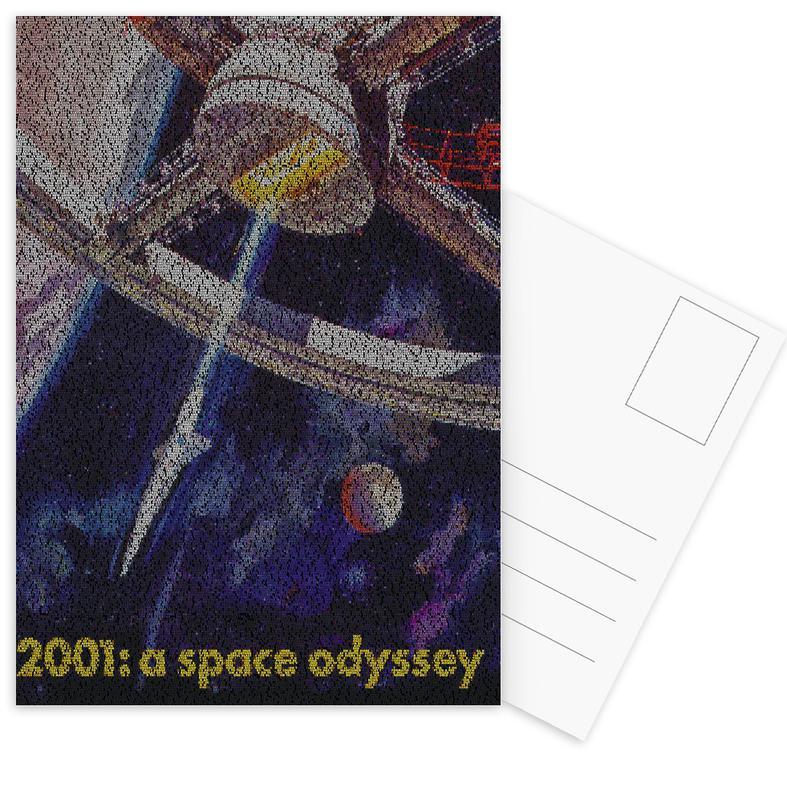 Films, A Space Odyssey ansichtkaartenset