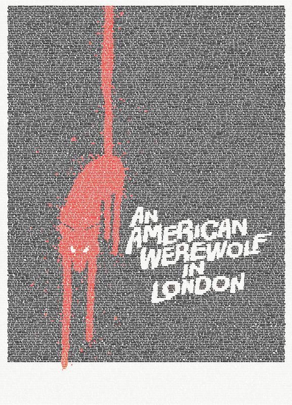 An American Werewolf In London -Leinwandbild