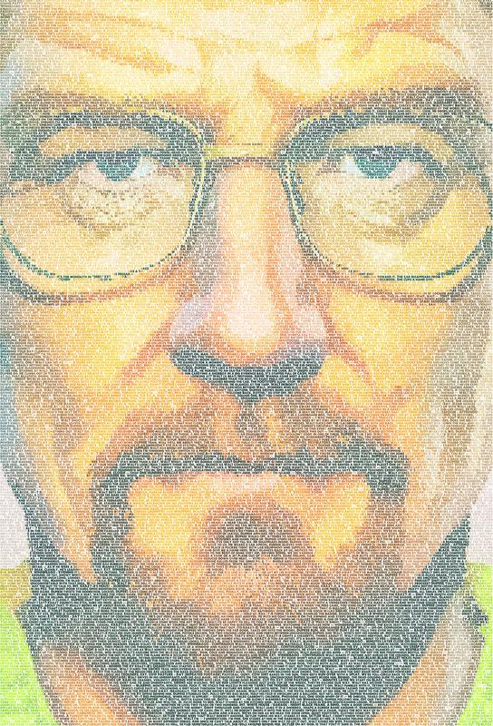 Breaking Bad -Acrylglasbild