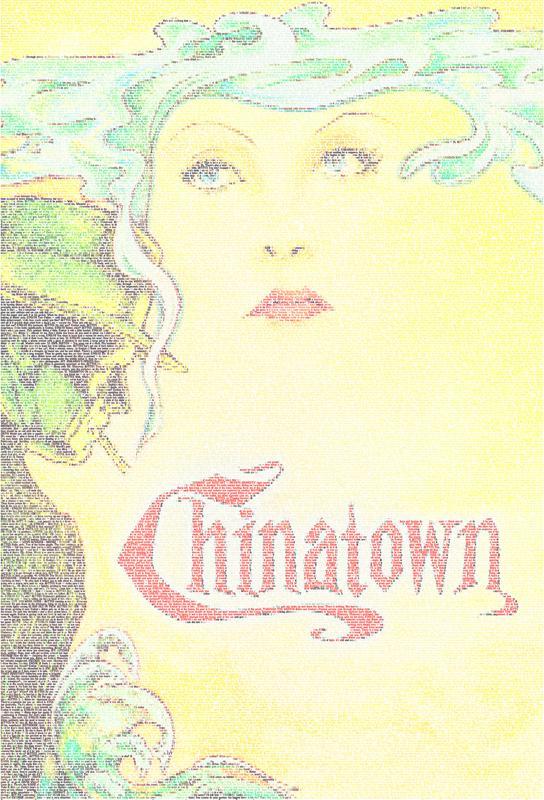 Chinatown -Acrylglasbild