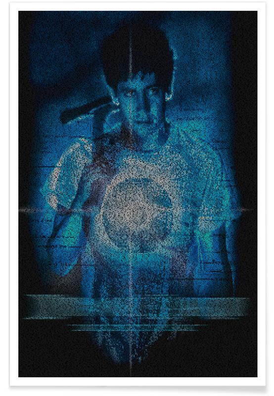 Films, Donnie Darko - pointillisme poster