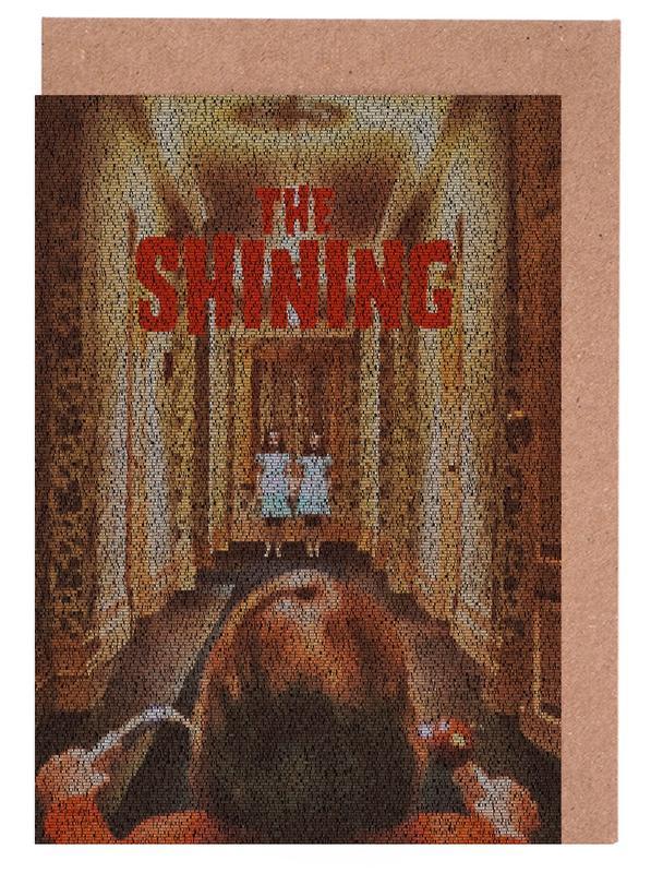 Films, The Shining cartes de vœux