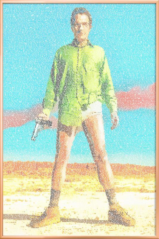 Walter -Poster im Alurahmen
