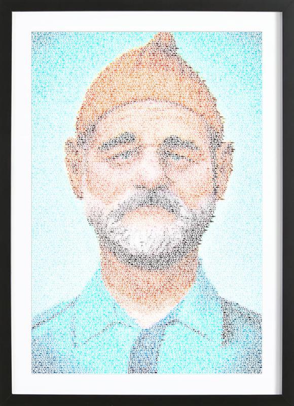 Zissou-aq Framed Print