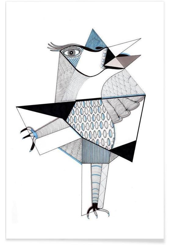 , bird Poster