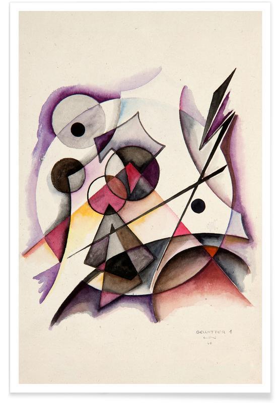 , Gewitter 1 (1946) Poster