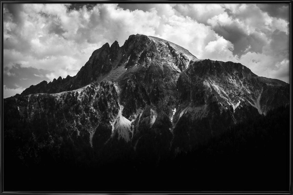 Black Mountains Framed Poster