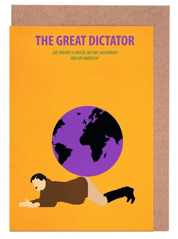 Films, The great Dictator wenskaartenset