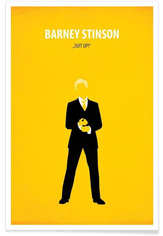 Serien, Barney Stinson -Poster