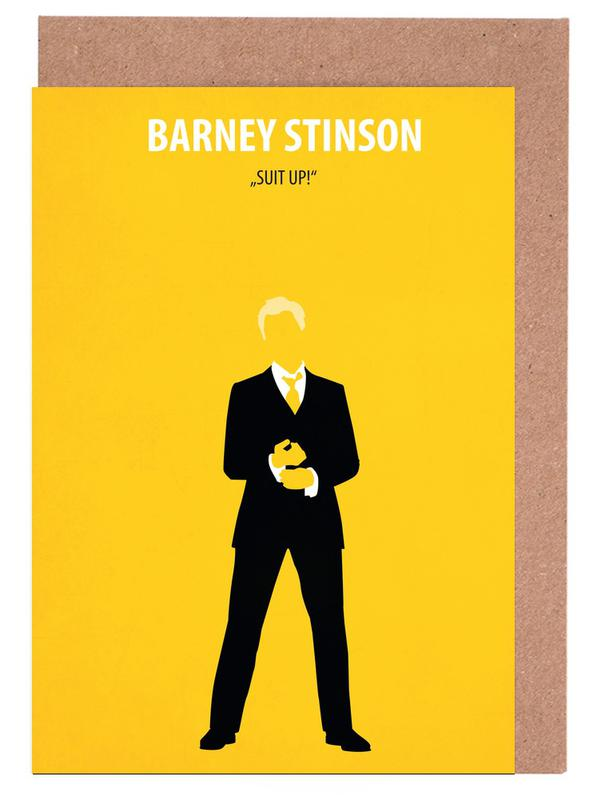 Barney Stinson -Grußkarten-Set