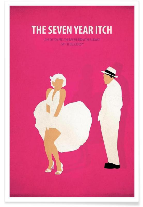 The seven year Itch affiche