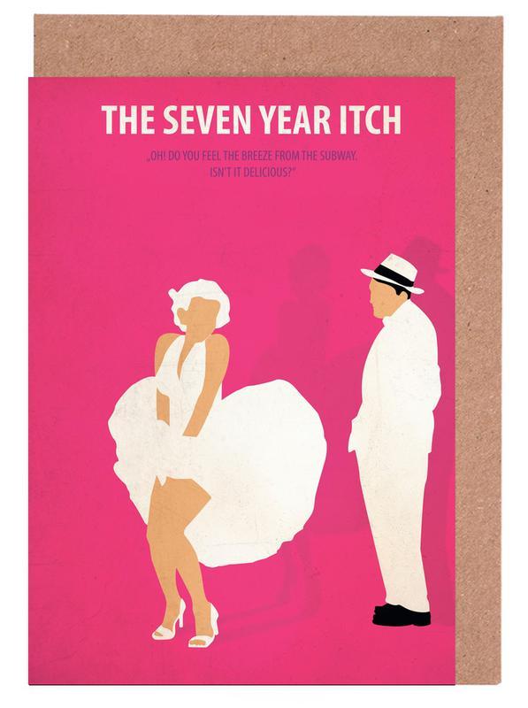 The seven year Itch -Grußkarten-Set